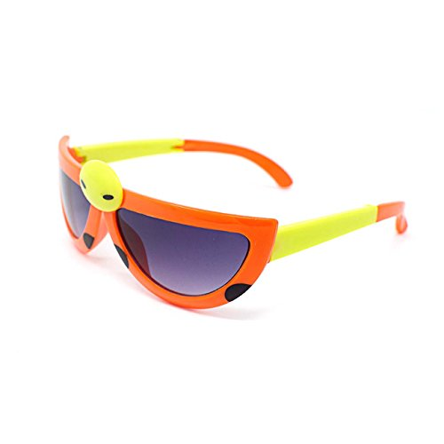 Ultra 3 x Orange Coloured Pairs Childrens Kids Boys Girls Stylish transforming cute ladybird Style - Buy Ray To Where Bans