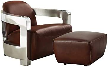 Sunset Trading Milan 2 Piece Leather Living Room Set