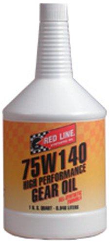 redline gear oil 75w140 - 3