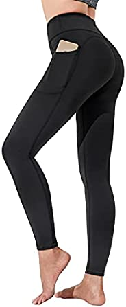 Polygon Yoga Pants for Women, High Waisted Leggings with Pockets, Tummy Control Non See Through Workout Pants