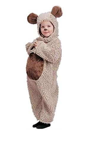 Oatmeal Bear Infant and Toddler Costume - Toddler 2-4