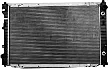 TYC 2307 Ford/Mazda 1-Row Plastic Aluminum Replacement Radiator