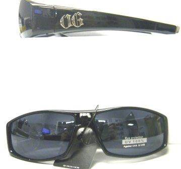 Locs Style Sunglasses Original Gangsta H7735 (Shiny - Gangsta Locs Sunglasses Original Style