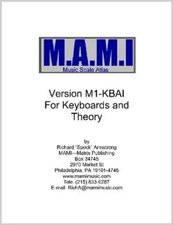 M.A.M.I. Music Scale and Modes Atlas for Piano / Keyboards