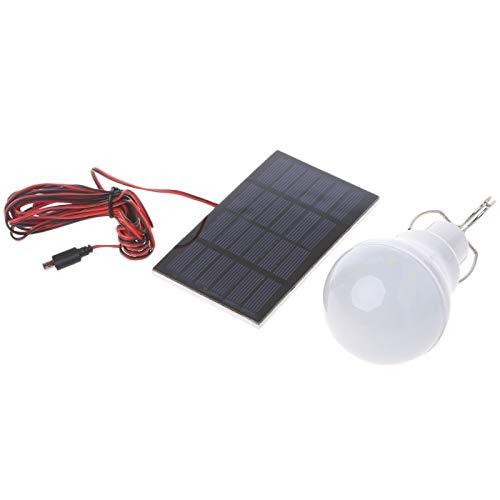 Uranus DC - Portable Solar Panel Power LED Bulb Lamp Outdoor Camp Fishing Light 15W