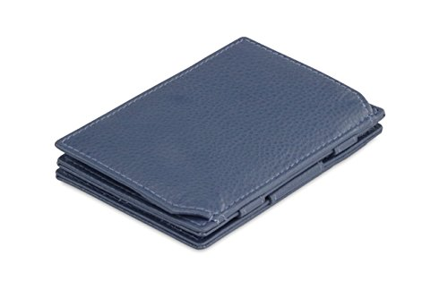 Magic Essenziale Nappa Coin Wallet RFID Navy Leather Blue Garzini dSFXTw1qzd
