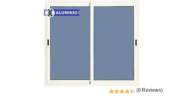 Ventana Aluminio Corredera 1200 ancho x 1000 alto 2 hojas: Amazon.es: Bricolaje y herramientas