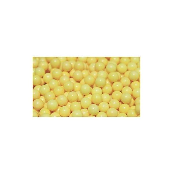 classic shoppe 6 MM Plastic BB Bullets for Toy Guns & Air Gun | 400 Pcs | Yellow Colour