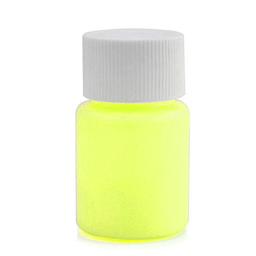MEXUD 20g Glow in the Dark Acrylic Luminous Paint Bright Pigment Party Decoration DIY - How Make Dark Glow To The Paint In