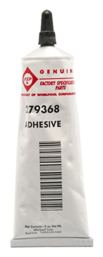 Whirlpool 279368 Adhesive For Dryer ()