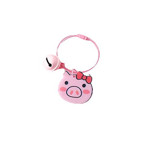- Pet Keychain,Cute Pig Pendant Key-Ring Fashion Multi Pet ID Tags Metal Dog Keychain Holiday Birthday Gift for Friends