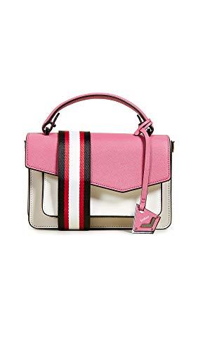 (Botkier Women's Cobble Hill Crossbody Bag, Bubblegum Colorblock, Pink, One Size)