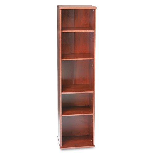 Half Height Kit Door (Bush WC72412 Series C Collection 18W 5 Shelf Bookcase, Natural Cherry)