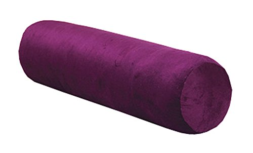 Long Cylindrical Candy Pillow Sleeping Pillow Round Cushion Pillow Detachable Wash (Dark purple) ()