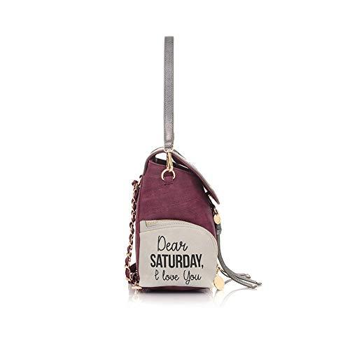 Saturday Donna Le Pe19daf0230501 Zainetto violet Borsa Pandorine wP0E1Hwq