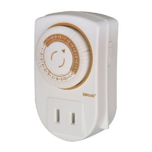 Coleman Cable Mechanical Timer 24 Hr Programmable 1 Outlet