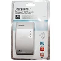 J-Tech Digital Premium Quality 300Mbps Wireless Wifi Repeater IEEE 802.11N Network Router Range Expander