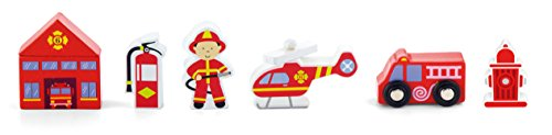Train Set Accessory -Fire Station (Station Train Set)