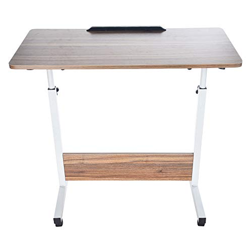 POQOQ Laptop Stand Laptop Table Reading Pillow Bed Desk Standing Desk Converter Household Can Be Lifted and Folded Folding Computer Desk Lap Desk Bed Table - Shabby Folding Table