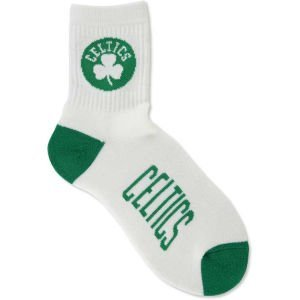 Bare Quarter Feet For Nba Socks - NBA Boston Celtics Men's Quarter Socks, Large, White