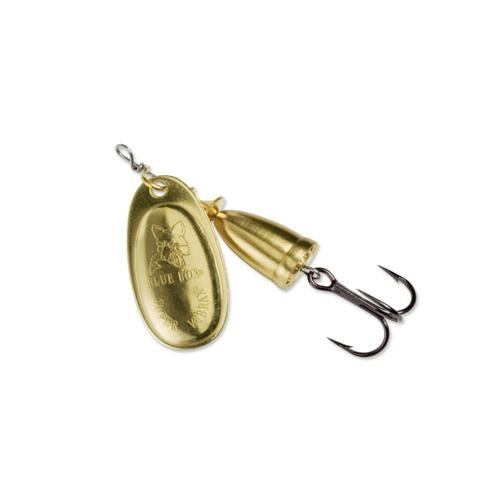 Blue Fox Classic Vibrax 00 Plated 7/64 (Gold/Gold, Size- 0)