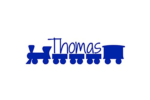 Train Name Decal, Personalized Nursery Decor, Train Playroom, Nursery Room Mural, Train Baby Shower Decorations, Train Vinyl, Baby Boy Room