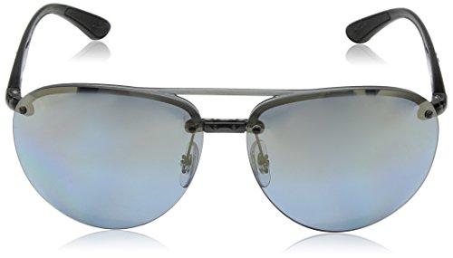 Sol para Ban 0RB4293Ch Gradient Gafas Gris Mirror Chromance Hombre Ray Blue de InqXId
