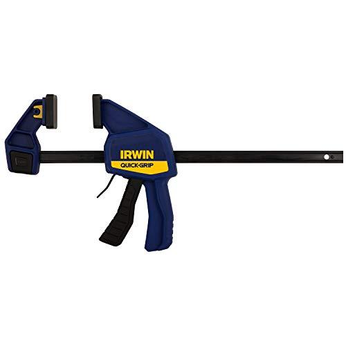 IRWINQUICK-GRIPOne-Handed Bar Clamp, Medium-Duty, 12