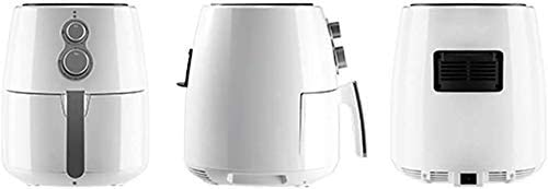 Air Fryer, 1300W, 3.5L, température de contrôle et de distribution, frites, mini-four, huile Frite, Sans graisse, blanc 8bayfa