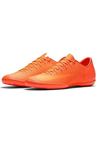 Nike Mens Mercurialx Seger Vi Ic Ttl Orange / Ljusa Ctr Fotbollsskor