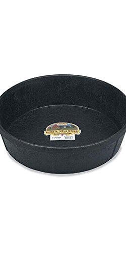 - 3 Gallon Little Giant DuraFlex Rubber Feed Pan