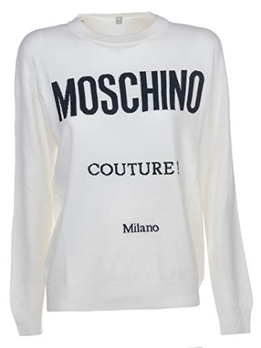 Moschino J091655001002 Mujer Lana Blanco Ropa r8rwv