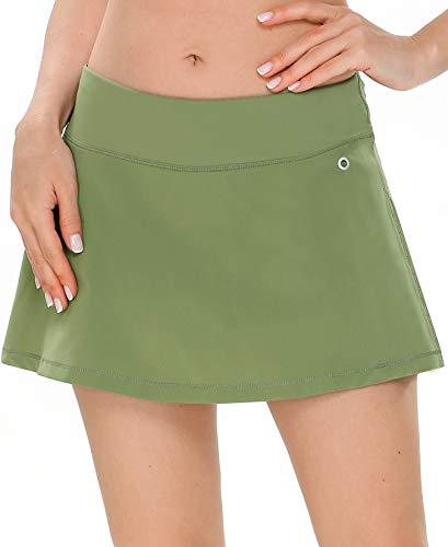QUEENIEKE Women Ultra Skirt with Athletic Shorts Gym Skorts Sports Tennis Skirt 80322