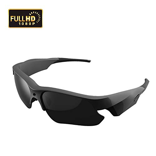 Sunglasses Camera, KAMRE Full HD 1080P Mini Video Camera with UV Protection Polarized Lens, ()