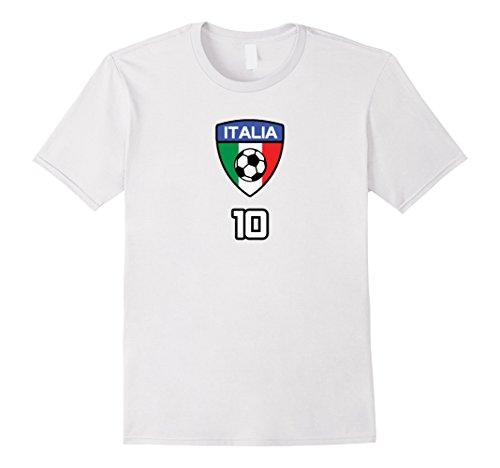 Mens ITALIA CALCIO TSHIRT FORZA AZZURRI FOOTBALL BLUE MAN WOMAN 2XL White Inter Milan Football Shirts