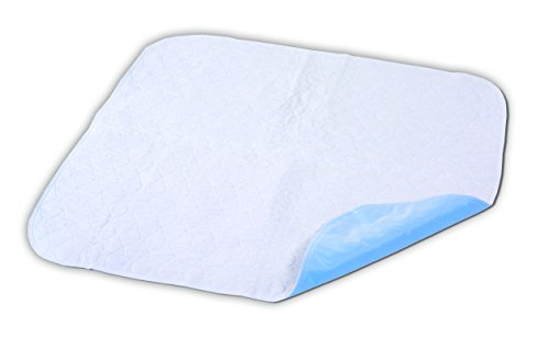 Essential Medical Supply Quik-Sorb Quilted Birdseye Underpad, 34 inch X 35 inch, 12 Count