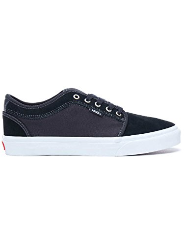 Vans Men's Chukka Low Black/White/Chili Pepper (7 D US)