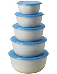 Investment 2 x Ikea 501.495.60 Reda Food Container, Blue, Set of 5 deliver
