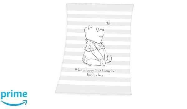 75/x 100/cm Herding de Microfibra flojel Techo Winnie The Pooh