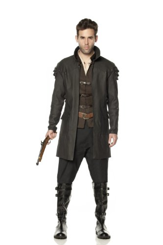 Mystery House Hansel Witch Hunter Deluxe Costume, Brown, Large