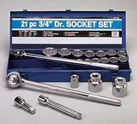 3 4 drive sae socket set - 6