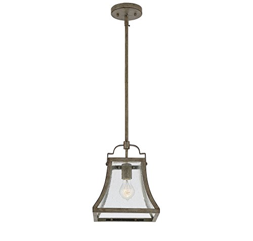 Savoy House 7-923-1-12 Belle Mini Pendant in Chateau Linen (Chateau Outdoor Pendant)