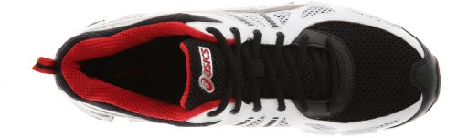 ASICS Men's Gel Fierce Running Shoe White/Black/Red pick a best buy cheap reliable cheap countdown package FFOQLh1