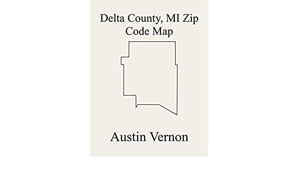 Amazon.com: Delta County, Michigan Zip Code Map: Includes ... on map of jeddo michigan, map of elmira michigan, map of cooks michigan, map of harrietta michigan, map of silver lake sand dunes michigan, map of belmont michigan, map of mayville michigan, map of falmouth michigan, map of lake ann michigan, map of bergland michigan, map of stephenson michigan, map of bell harbor michigan, map of alden michigan, map of cascade township michigan, map of benzonia michigan, map of new era michigan, map of franklin michigan, map of riverdale michigan, map of casco michigan, map of detour village michigan,