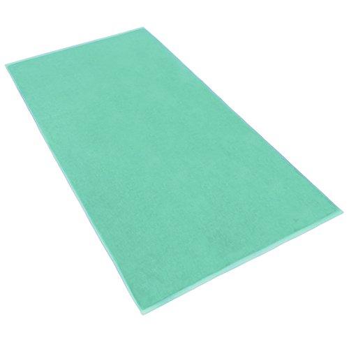 Terry Bath Sheet/Beach Blanket Color: Sea Foam