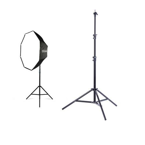 Westcott 2340 43'' Apollo Orb Speedlite Kit - Fiberglass Frame - Bundle with Flashpoint Pro Air Cushioned Heavy Duty Light Stand - 7.2' by Westcott