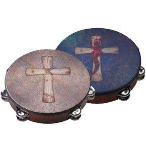 Remo Gospel Tambourine with Sand Crosswind