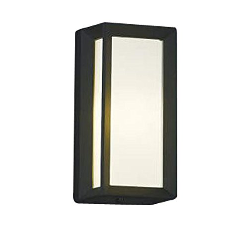 コイズミ照明 ポーチ灯 直付壁付門柱取付 黒色 AU40413L B00KVWJFXK