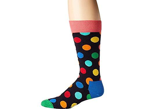 Happy Socks Men's Big Dot Socks Bright Combo Men's Shoe Size 10-13