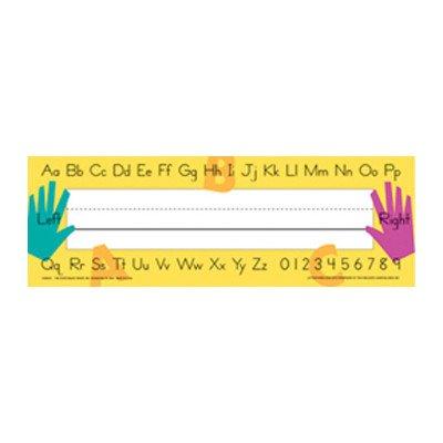 Plate Teachers Name Tag [Set of 2]